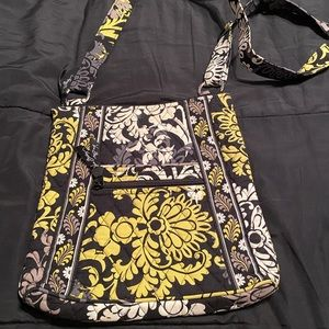 Vera Bradley Squared Away Baroque Cross Body Bag